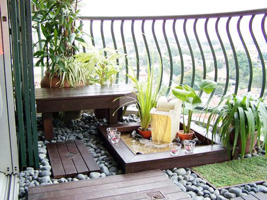 Kucuk Sik Balkon Dekorasyonu Dekorstore