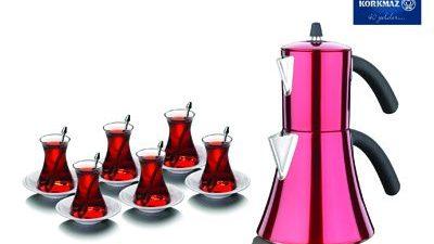 Korkmaz Çaydanlık Takımları 2014