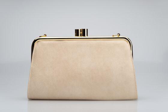 7deb186ff24e5 krem deri abiye çanta - DekorStore