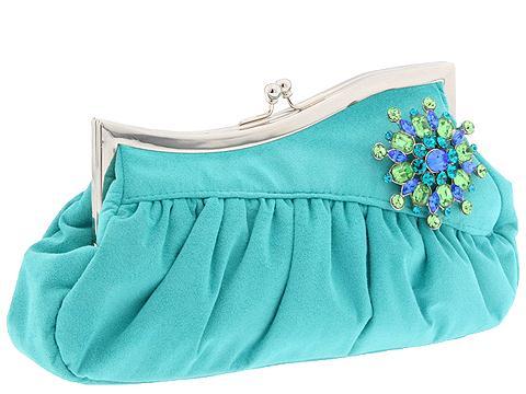 turkuaz-renkli abiye çanta