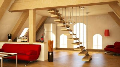 Çatı Katı Dekorasyon Modelleri