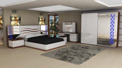 2014 Zebrano Yatak Odası Modelleri