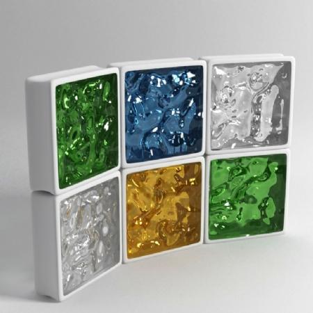 Dört-renk-cam-tuğla-örnekleri