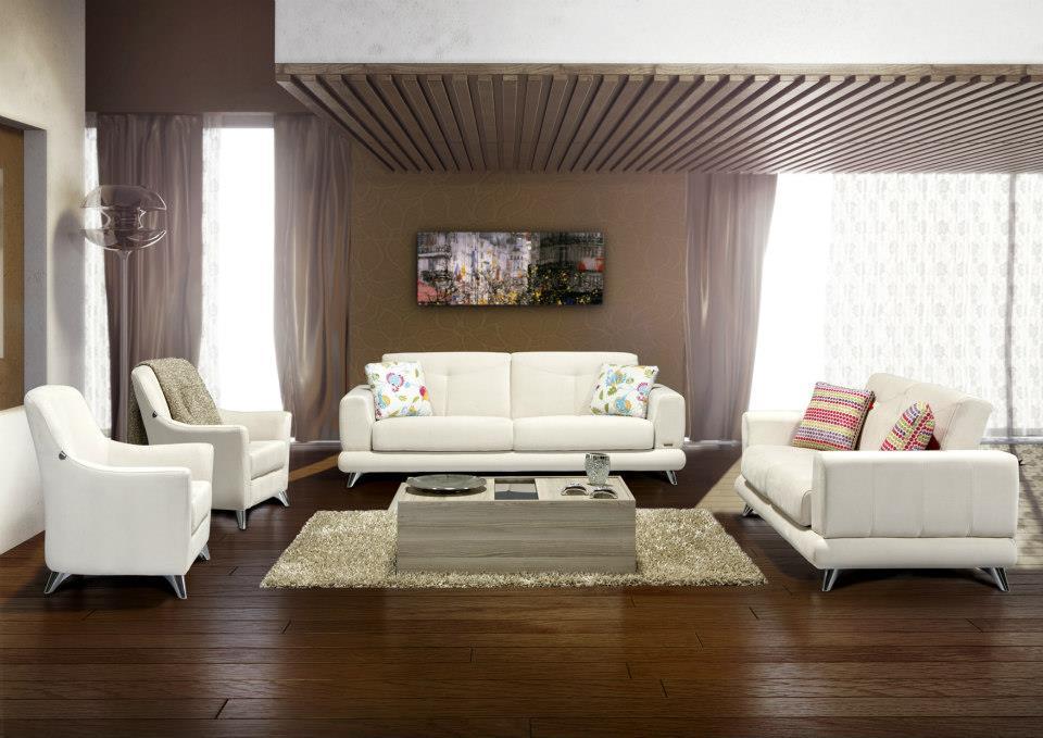 Alfemo Beyaz Oturma Grubu Modelleri Dekorstore