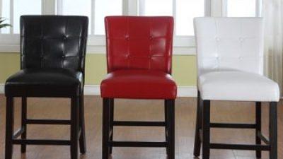 2014 Modern Deri Sandalye Modelleri