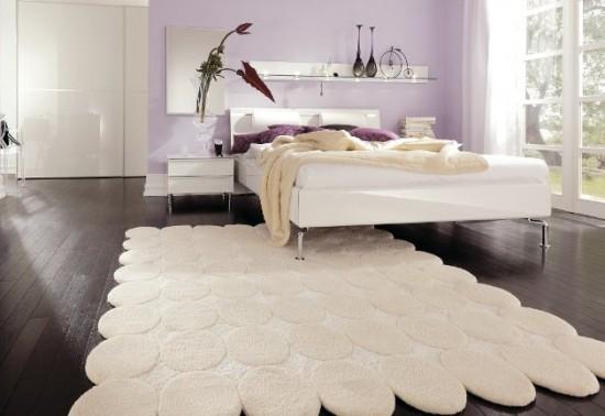 yatak-odası krem halı
