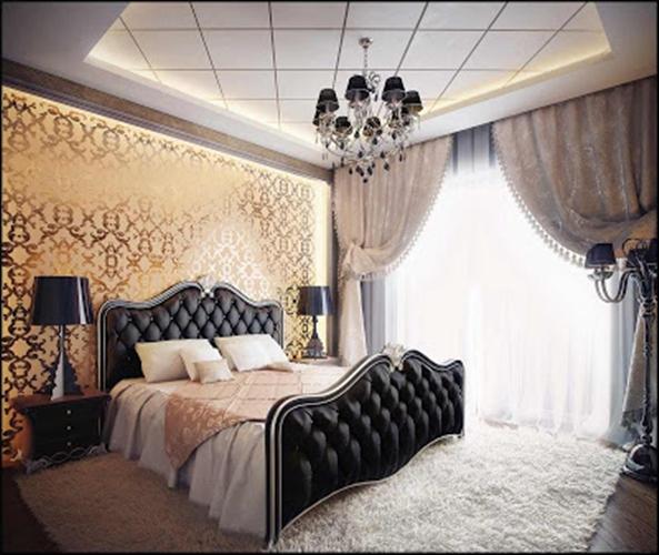 2014 italyan tarzı klasik yatak odası