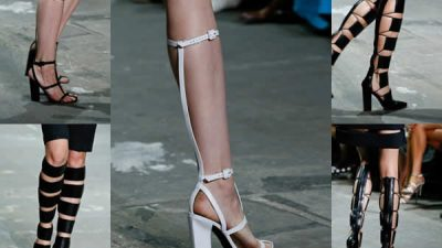 2014 Topuklu Sandalet Ayakkabı Modelleri