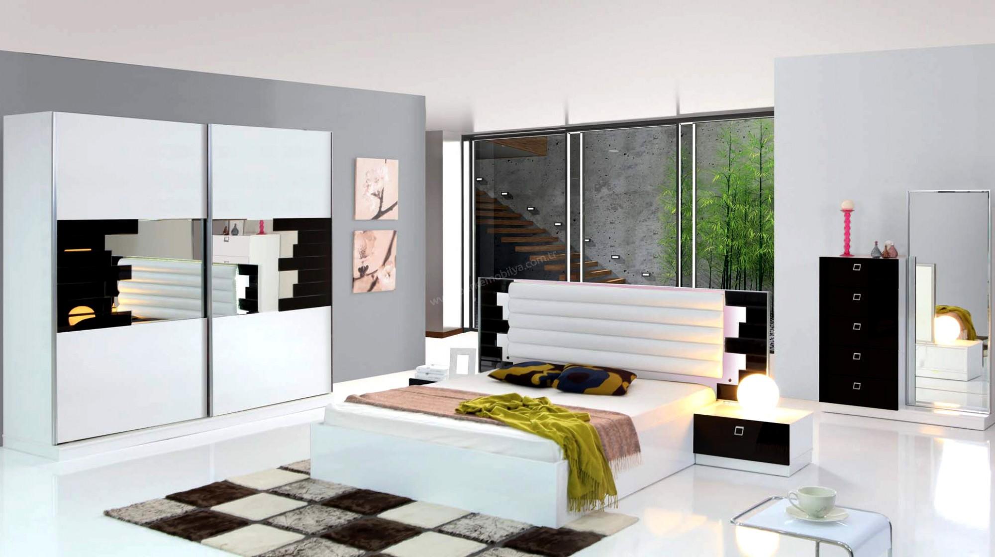 Zebrano Yatak Odasi Modelleri Dekorstore