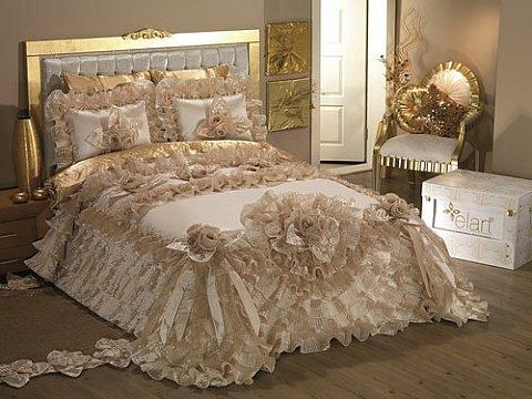 açık-kahve-linens-yatak-örtüsü-modelleri