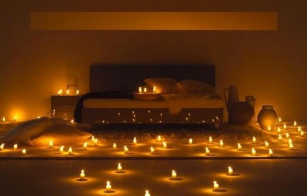 feng-shui farklı yatak odası dekorasyonları