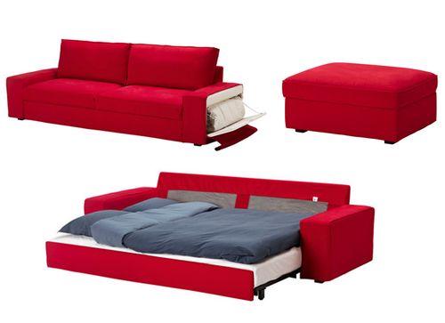 ikea dolaplı yataklı kanepe modeli