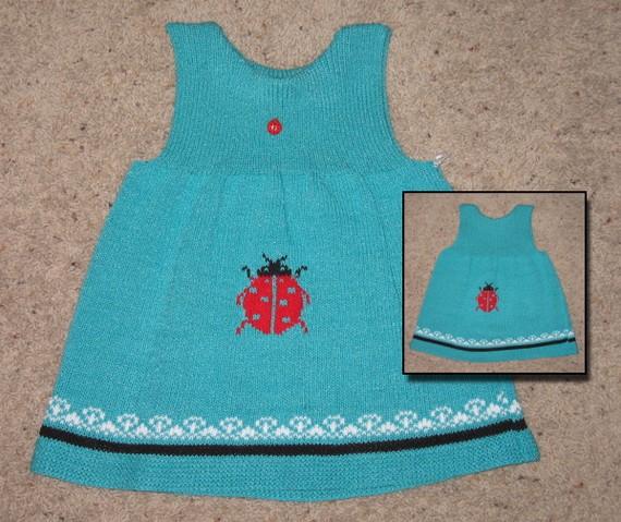 örgü kız bebek elbise modelleri