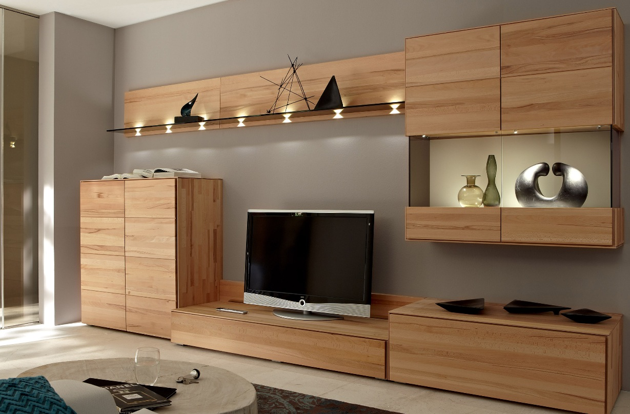 Tv furniture and decoration light