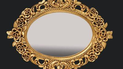 Dekoratif Varak Ayna Modelleri 2014
