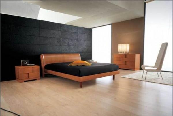 doğal ahşap rengi-modern-yatak-odası
