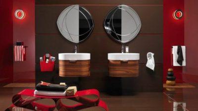2014 Etkileyici Modern Banyo Dekorasyon Modelleri