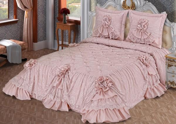 evlen home mahpeyker yatak örtüsü