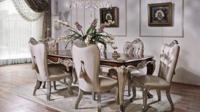 2014 Klasik Yemek Odası Modelleri