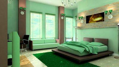 2014 Egzotik Yatak Odası Dekorasyon Modelleri