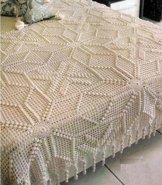 kabartmalı-dantel-yatak-örtüleri