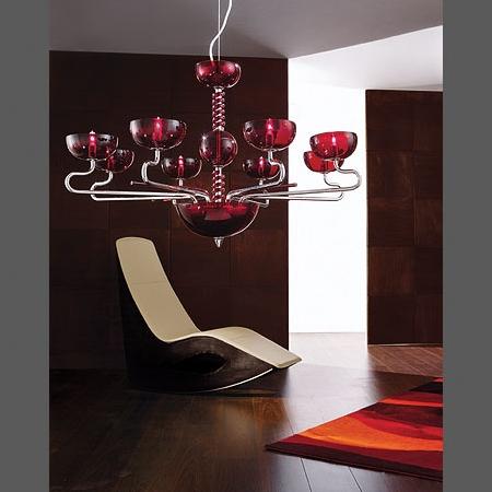 modern-italyan-tasarım-kırmızı-cam-avize-modeli