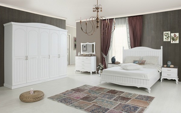 modes anka country yatak odası