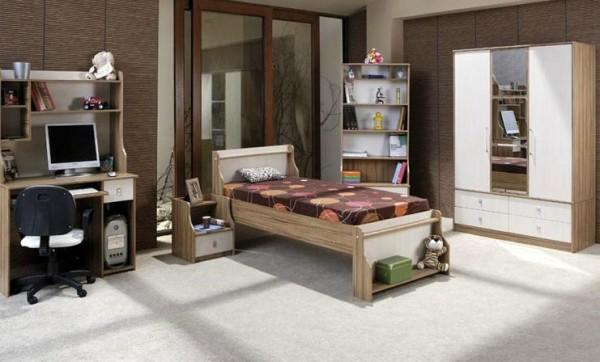 modes mobilya genç odaları