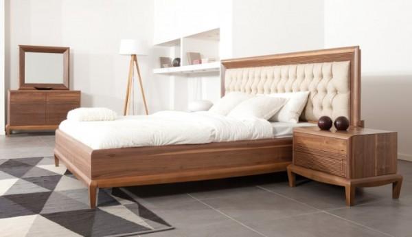 onsa ahşap yatak odası modelleri