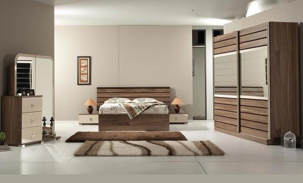 trendy yatak odası