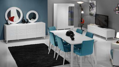 2014 Tarz Mobilya Yemek Odası Modelleri