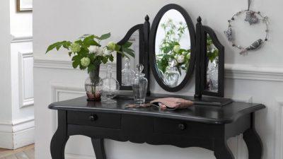 Siyah Makyaj Masası Modelleri 2014