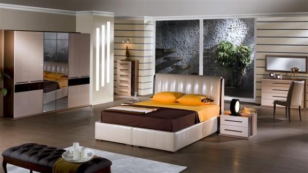 çizgi yatak odası