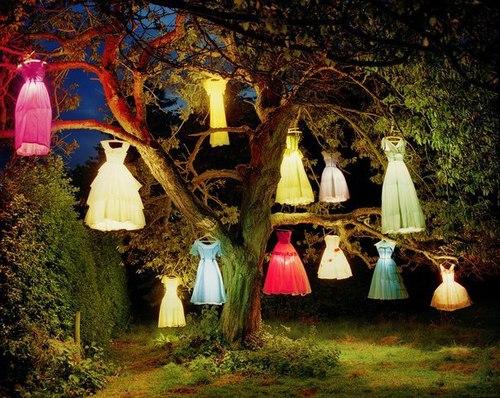 dekoratif bahçe aydınlatmaları