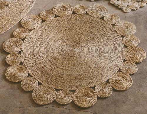 elde yapılmış dekoratif halı