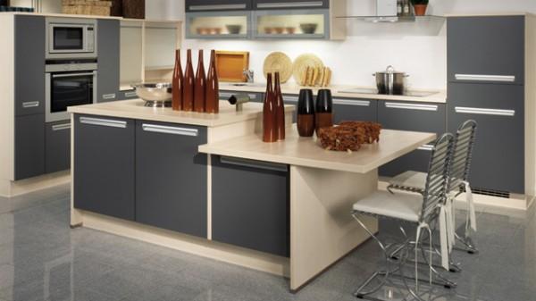 modern ada mutfak tasarımı
