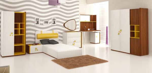 modern genç odası modelleri