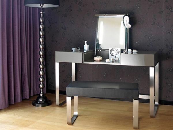 modern-retro-siyah-gri-makyaj-masasi