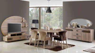 Özbay Mobilya 2014 Yemek Odası Modelleri