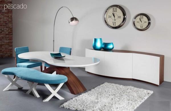 nills mobilya pescado yemek odası