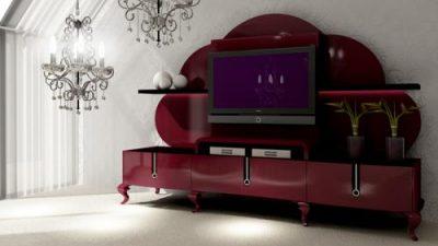 2014 Modern TV Ünitesi Modelleri
