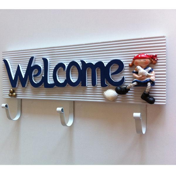 Modern-welcome-yazılı-ilginç-duvar-askı-örnekleri