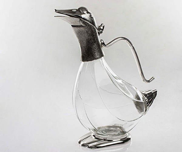 gümüşlü ördek sürahi