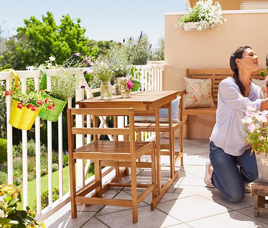 katlanabilir balkon masası