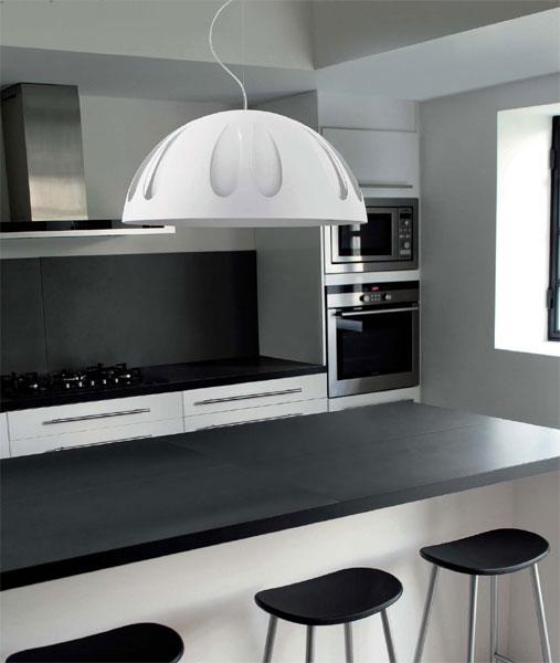 modern mutfak aydınlatmaları