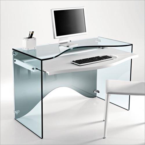 Cam-Bilgisayar-Masası
