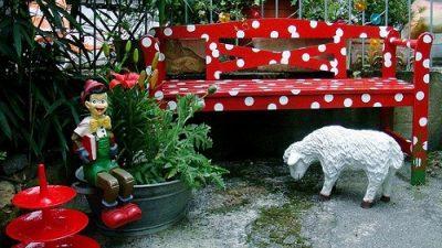Rengarenk Balkon Ve Bahçe Aksesuar Modelleri
