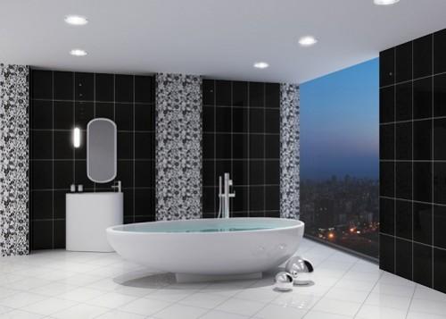 Siyah-beyaz-çok-şık-banyo-fayans-modeli