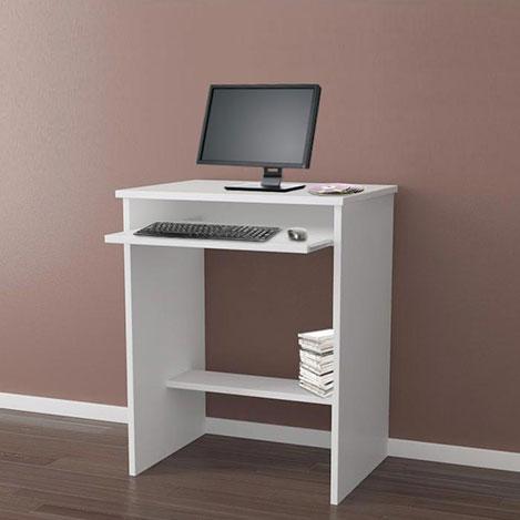 beyaz bilgisayar masası