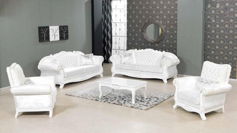 Beyaz Oturma Grubu Dekorstore